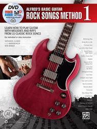 Alfred's Basic Guitar Rock Songs Method, Book 1