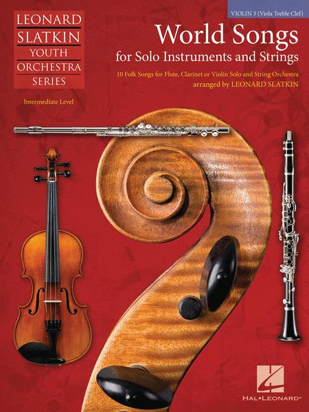 World Songs for Solo Instruments and Strings