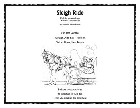 Download Sleigh Ride Jazz Combo Sheet Music By Leroy Anderson
