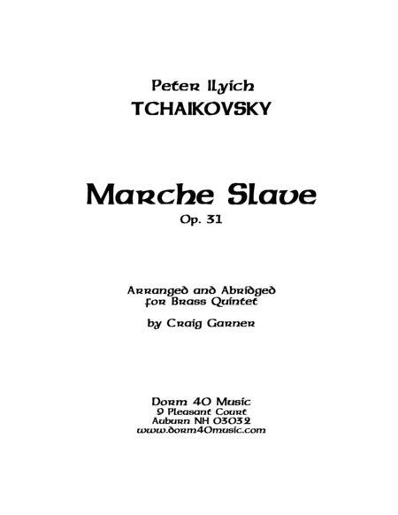 Marche Slave, Op. 31