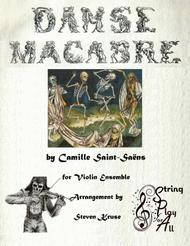 Danse Macabre for Mixed-Level Violin Ensemble