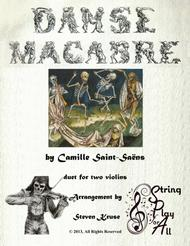 Danse Macabre for Violin Duet