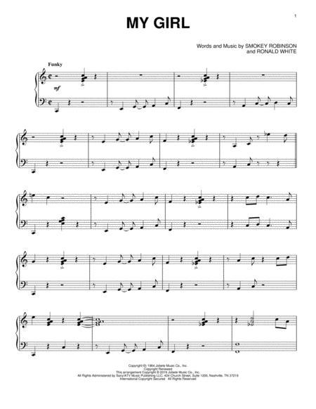 My Girl [Jazz version]