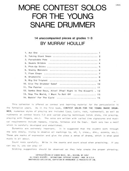 More Contest Solos For The Young Snare Drummer
