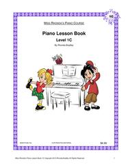 Piano Lesson Book 1C Miss Rhonda's Piano Course for Kids