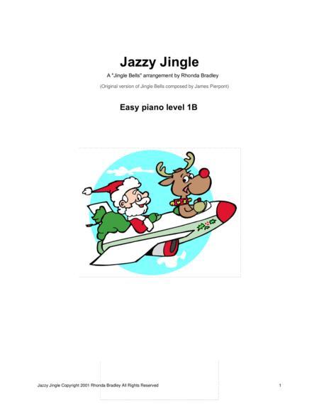 Jazzy Jingle ( Jingle Bells ) Easy Piano