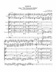 Nutcracker Ballet - March for Strings and Piano