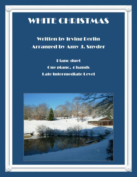 White Christmas-Piano Duet