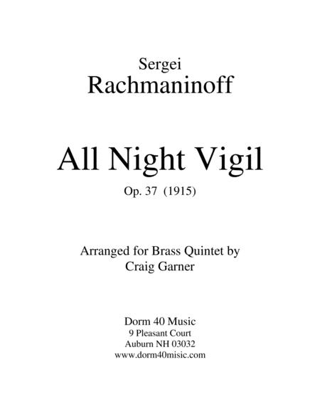All Night Vigil. Op. 37