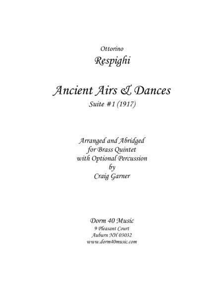 Ancient Airs & Dances - Suite #1
