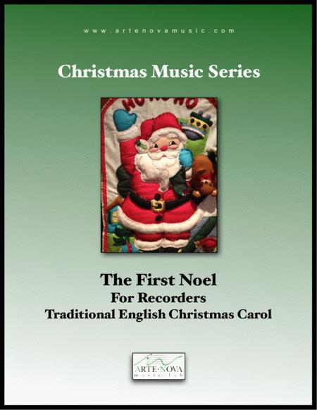 The First Noel  - For Recorders