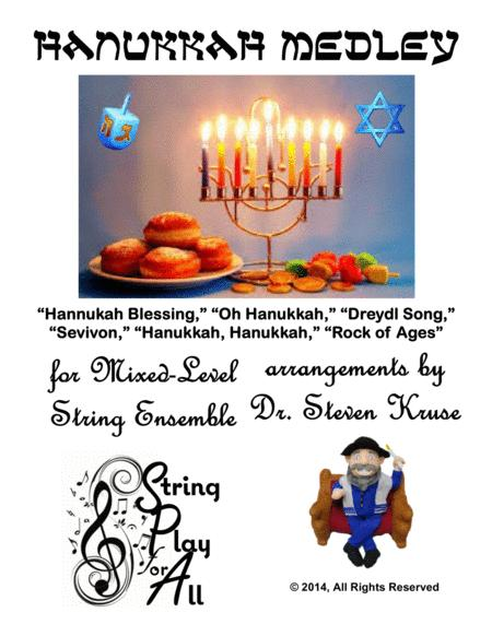 Hanukkah Medley for Mixed-Level String Ensemble
