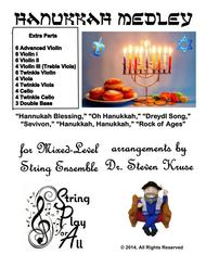 Hanukkah Medley for Mixed-Level String Ensemble, Set of Parts