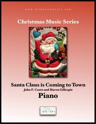 Santa Claus is Coming to Town - Piano