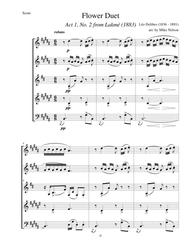 Flower Duet from Lakme (Wind Quintet)