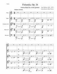 Finlandia (Wind Quintet)
