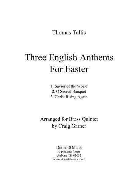 Three English Anthems for Easter