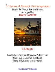 3 Hymns of Praise & Encouragement (Duets for Tenor Sax and Piano)