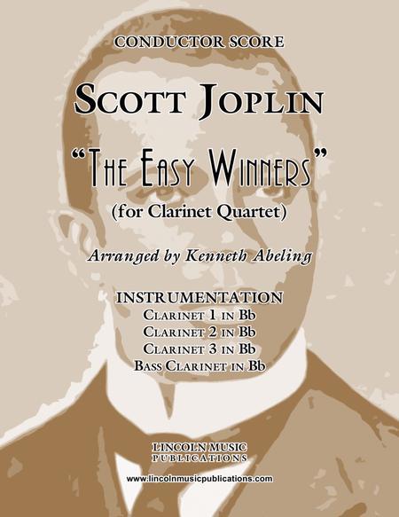 "Joplin - ""The Easy Winners"" (for Clarinet Quartet)"