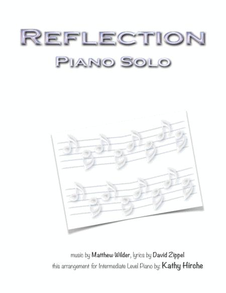 Reflection - Piano Solo