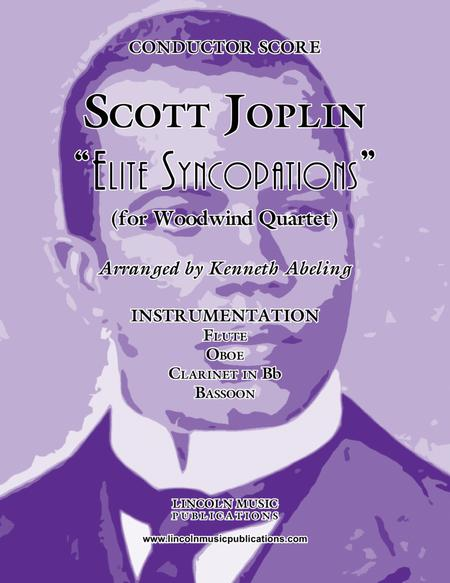 "Joplin - ""Elite Syncopations"" (for Woodwind Quartet)"