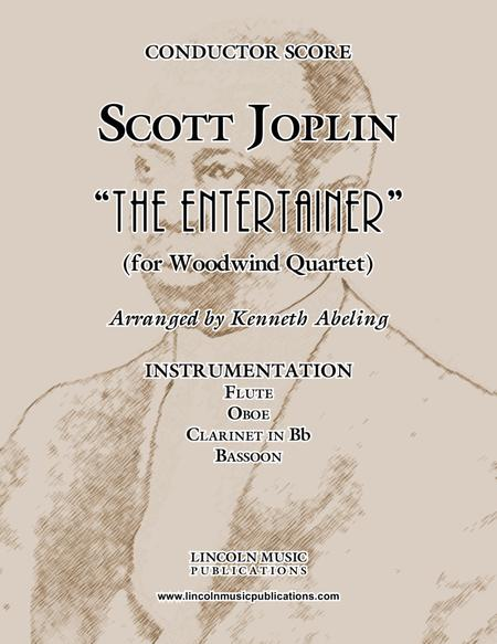 "Joplin - ""The Entertainer"" (for Woodwind Quartet)"