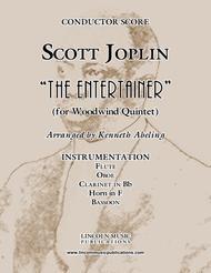 "Joplin - ""The Entertainer"" (for Woodwind Quintet)"
