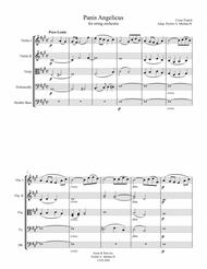 Panis Angelicus, Cesar Franck for String Orchestra