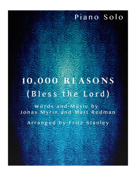 10,000 Reasons (Bless The Lord) - Piano Solo