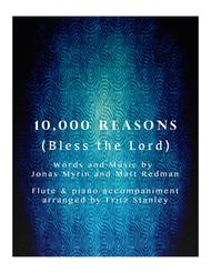 10,000 Reasons (Bless The Lord) - Flute & Piano Accompaniment