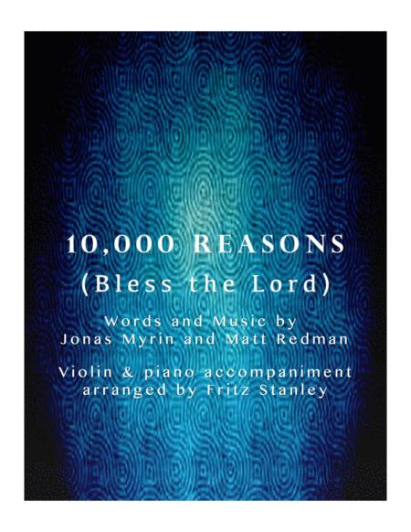 10,000 Reasons (Bless The Lord) - Violin & Piano Accompaniment