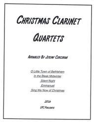 5 Christmas Carols for Clarinet Quartet