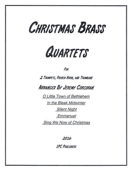 5 Christmas Carols for Brass Quartet