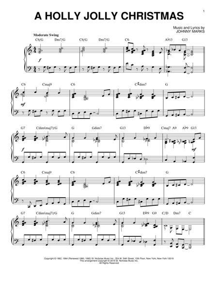 A Holly Jolly Christmas [Jazz version] (arr. Brent Edstrom)