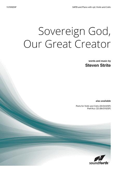 Sovereign God, Our Great Creator