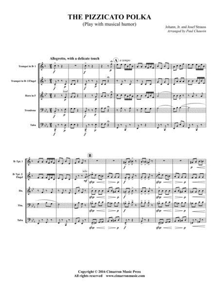 The Pizzicato Polka