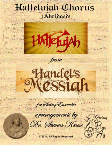 Hallelujah Chorus the Messiah for Multi-Level String Orchestra