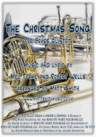 The Christmas Song by Torme and Wells - BRASS QUINTET
