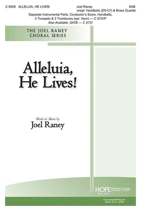 Alleluia, He Lives!-SAB