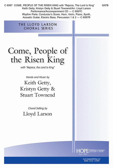 Come, People of the Risen King-SATB