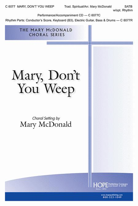 Mary, Don't You Weep