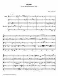 Prelude 07 from Well-Tempered Clavier, Book 2 (Clarinet Quintet)