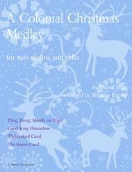 A Colonial Christmas Medley for String Trio