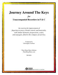 Journey Around the Keys for Unaccompanied Recorders in F & C