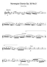 Norwegian Dance No. 2 Op. 35