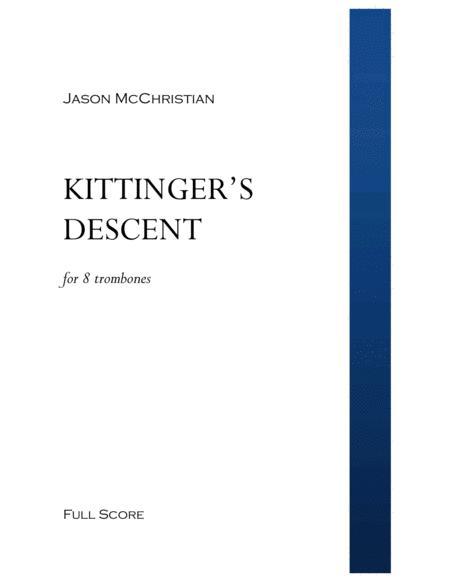 Kittinger's Descent - for 8 Trombones