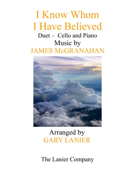 I KNOW WHOM I HAVE BELIEVED (Duet – Cello & Piano with Score/Part)