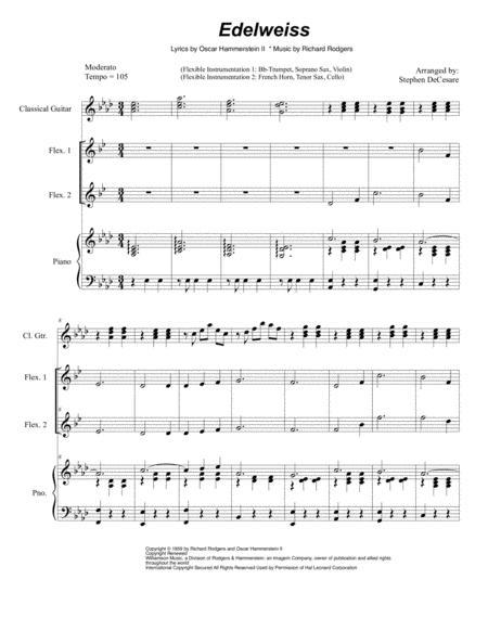 Edelweiss (for Flexible Instrumentation)