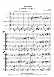 Bizet: Habanera (Carmen Suite No.2) - wind quintet