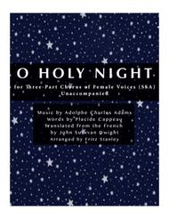O Holy Night - SSA A Cappella